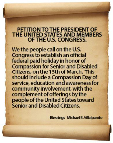 National Compassion Holiday Petition